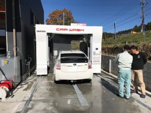 洗車機導入