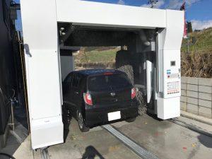 ミラ洗車機