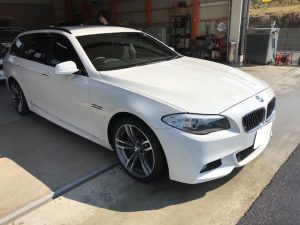 BMW5 ツーリング タイヤ交換
