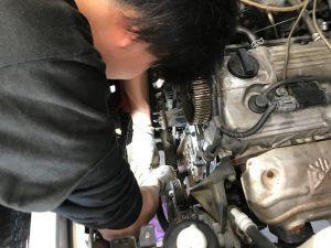 ジムニー エンジン修理