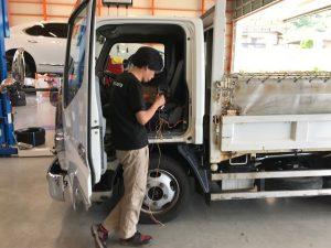トラック電装修理